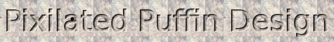 Pixilated Puffin Header